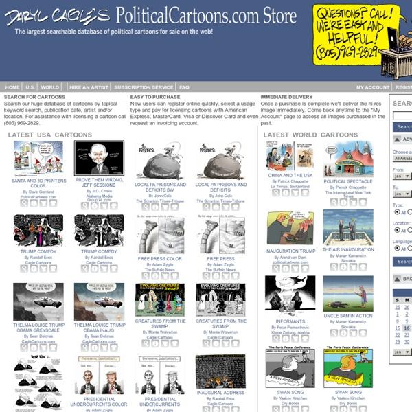 PoliticalCartoons.com Homepage