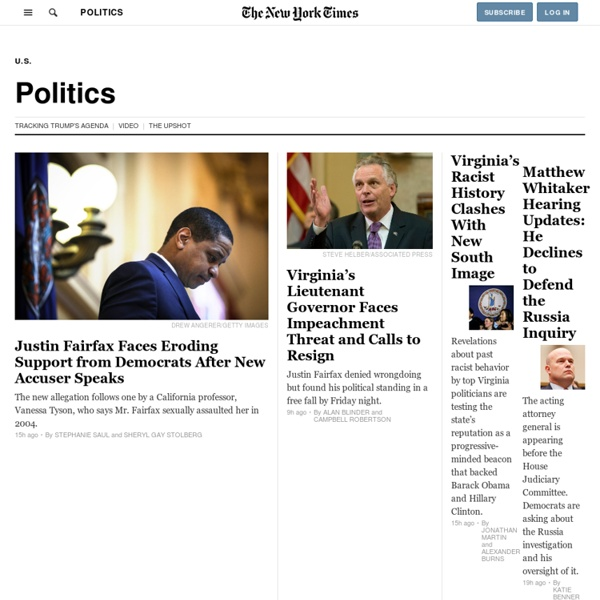 US Politics - NYTimes