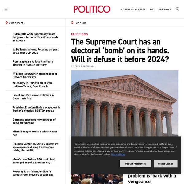 Politics, Political News