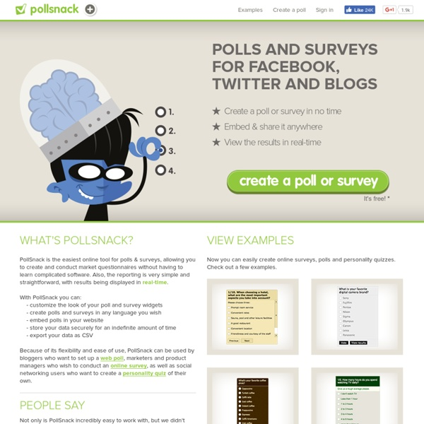 Online survey software, web poll & questionnaire tool