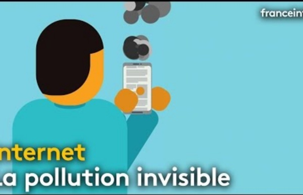 Cette pollution invisible que génère internet - franceinfo: