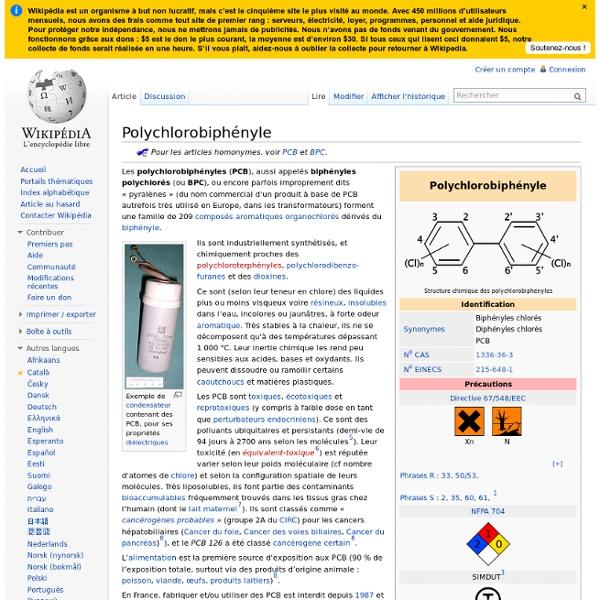 Polychlorobiphényle