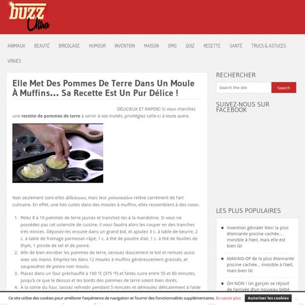 Elle Met Des Pommes De Terre Dans Un Moule À Muffins… Sa Recette Est Un Pur Délice ! »