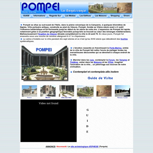 Pompei -Guide de visite-