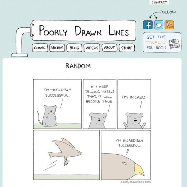 Poorly Drawn Lines