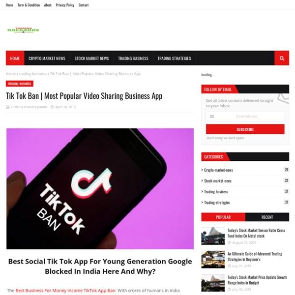 Most Popular Video Sharing Business App