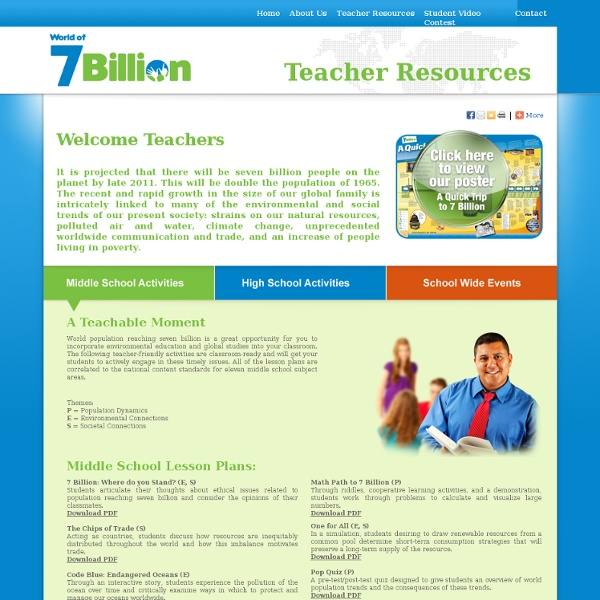 Teacher Resources, Lessons, Plans, Activities