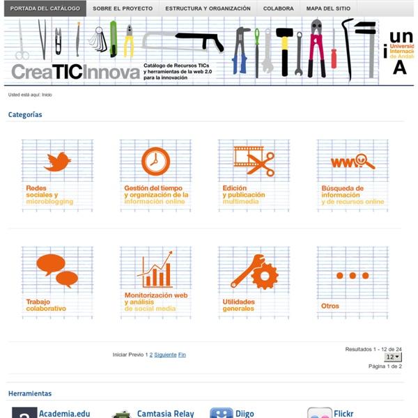 Catálogo de Herramientas 2.0