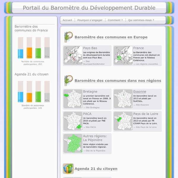 Baromètre du développement durable.