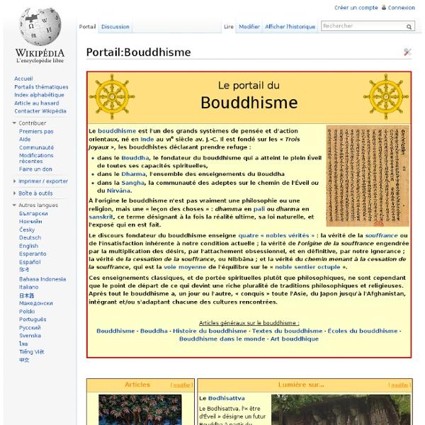 Portail:Bouddhisme