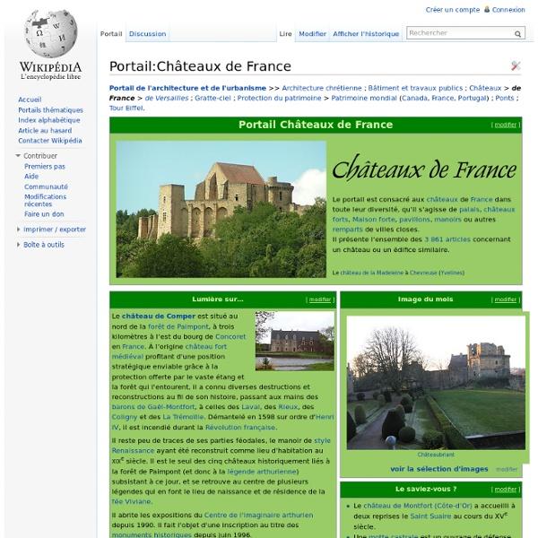 Portail:Châteaux de France