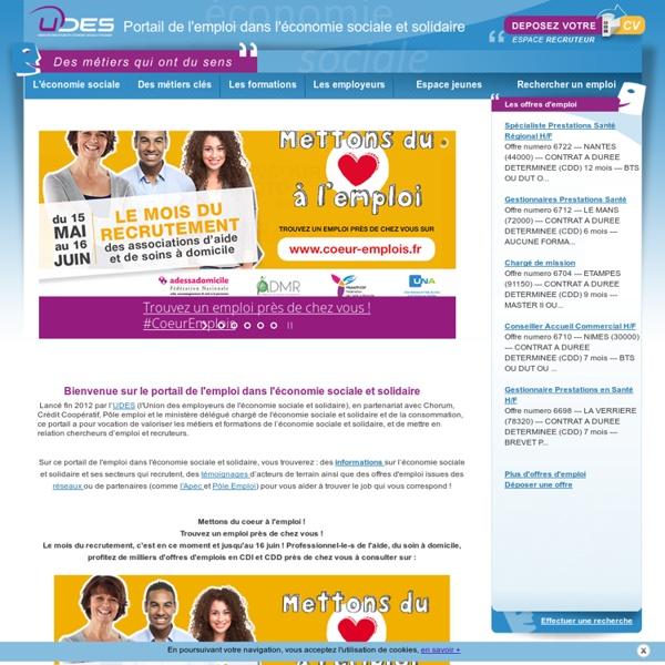 USGERES - Portail Emploi Economie Sociale Solidaire
