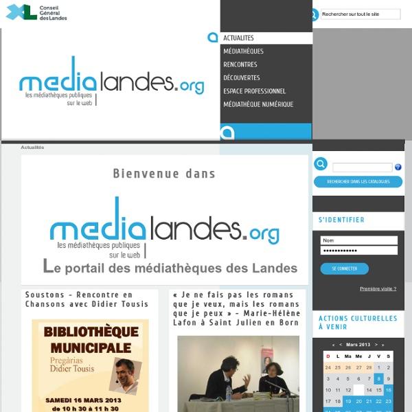 Mediatheque Departementale des Landes - MDL