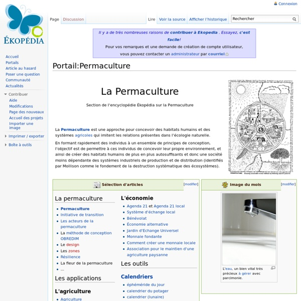 Portail:Permaculture