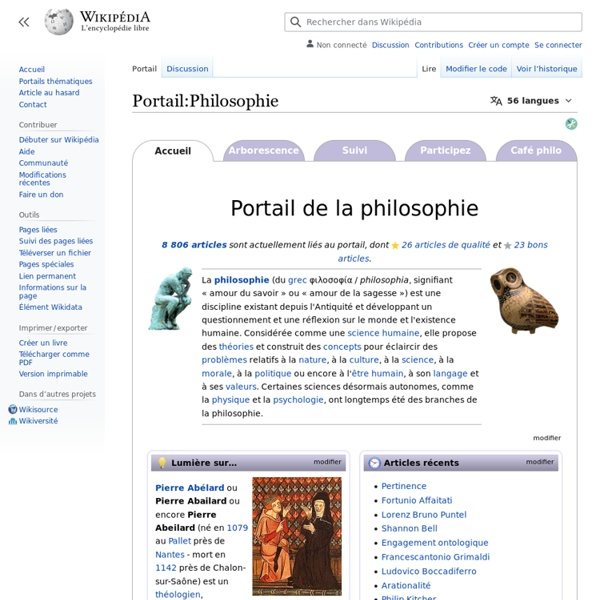 Portail:Philosophie