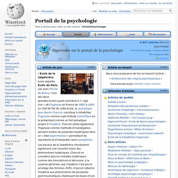 Portail:Psychologie