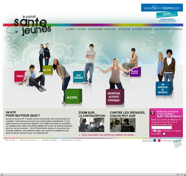 Portail Santé Jeunes - Accueil