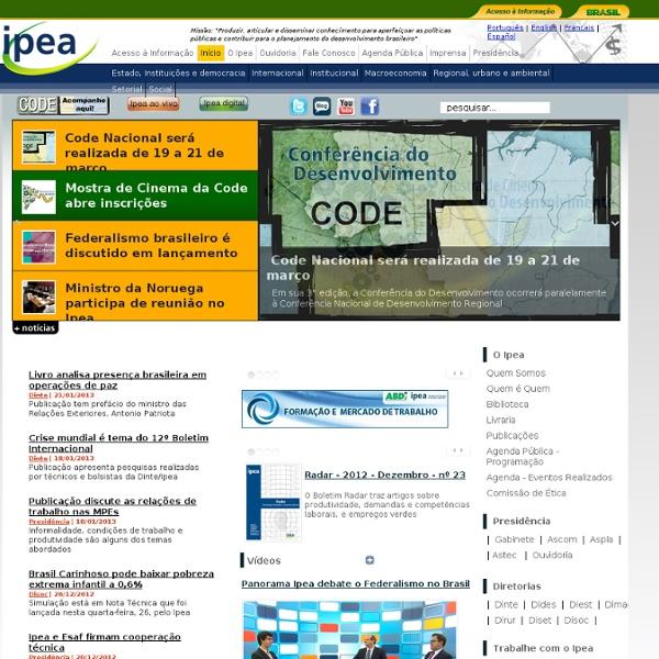 Portal Ipea