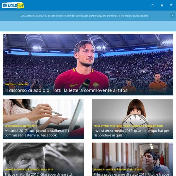 Skuola.net - Portale per Studenti: Materiali, Appunti e Notizie