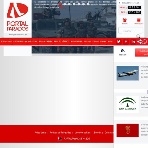 Portalparados - El primer portal de actualidad y servicios para