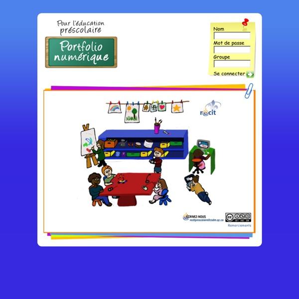 Portfolio numérique pour l'éducation au préscolaire