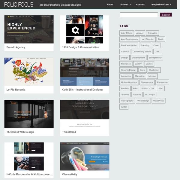 Folio Focus - Gallery of Design Portfolios