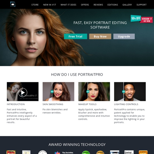 PortraitPro - Easy Photo Editing Software