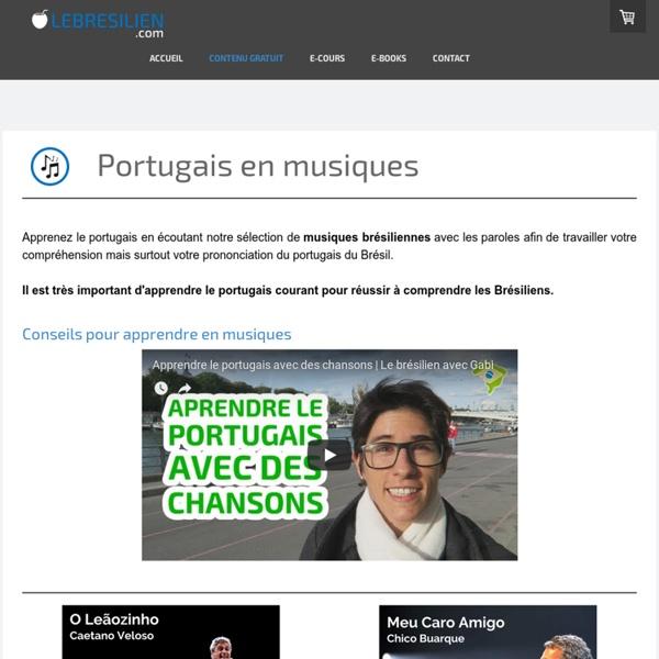 Le portugais en musiques - Lebresilien.com