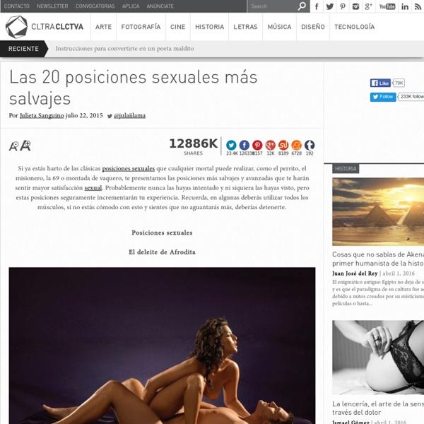 Las 20posiciones sexuales más salvajes