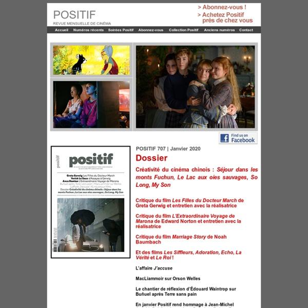 Positif - Revue mensuelle de cinéma
