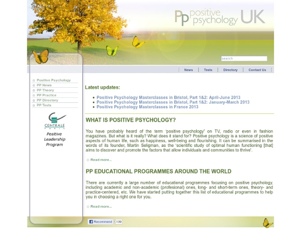 Positive Psychology UK