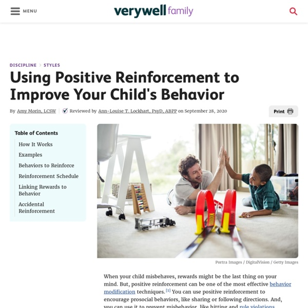 How to Use Positive Reinforcement to Improve Your Child's Behavior