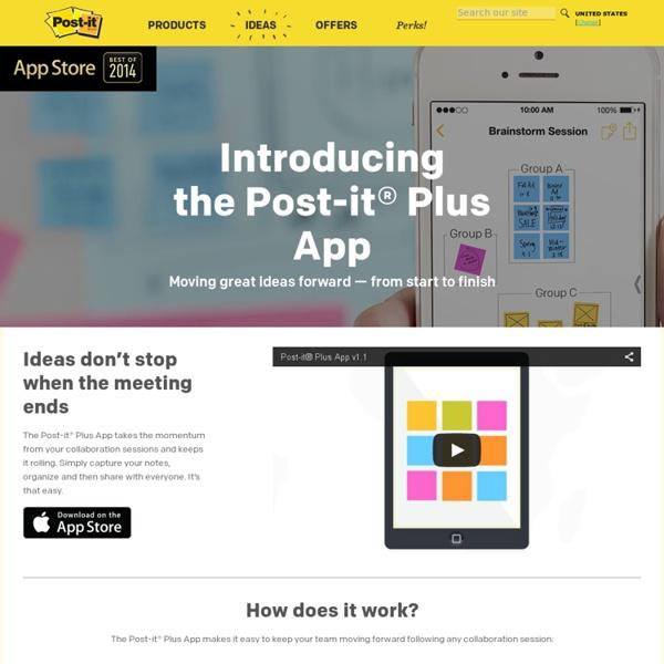 Post-its Plus App