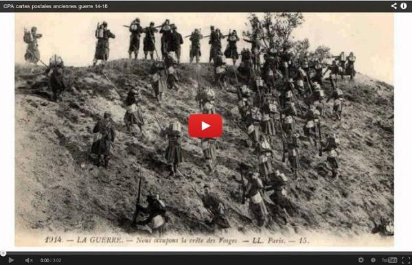 CPA cartes postales anciennes guerre 14-18