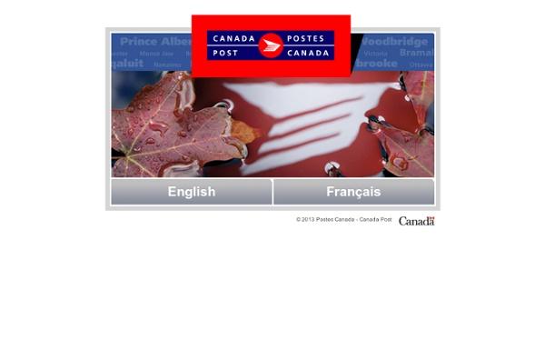 Postes Canada – Canada Post