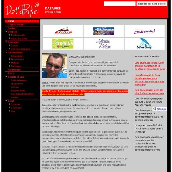 Parcours velo : itineraire routier touristique pour un tour de France 2011 de cyclosport et cyclotourisme