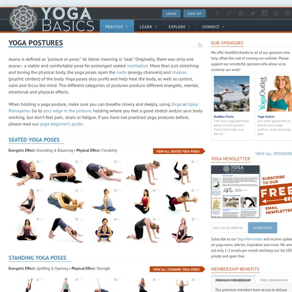 Yoga Basics: Your guide to Asanas, the Yoga Postures and Poses