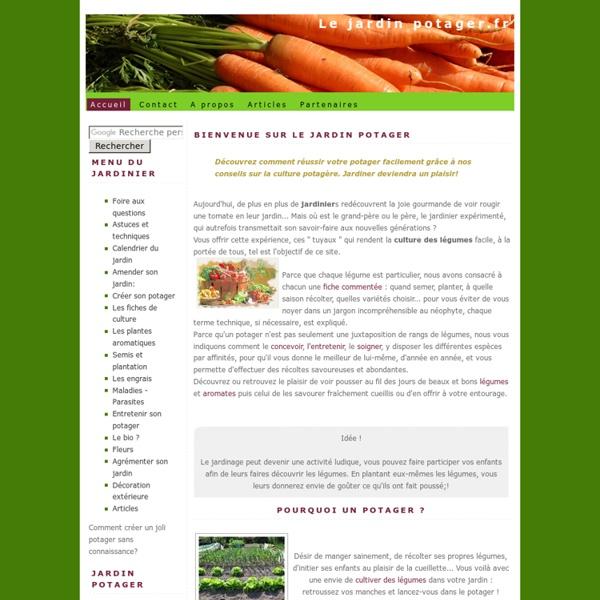 Le jardin potager, Le guide du jardinier et du jardinage