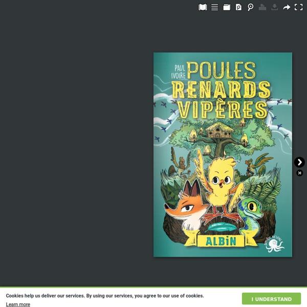 """Roman jeunesse - """"Poules, renards, vipères"""" de Paul Ivoire"""