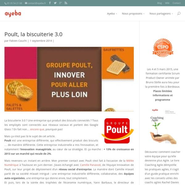 Poult, la biscuiterie 3.0