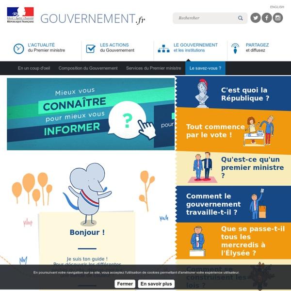 Gouvernement.fr - Pour les 6 – 10 ans