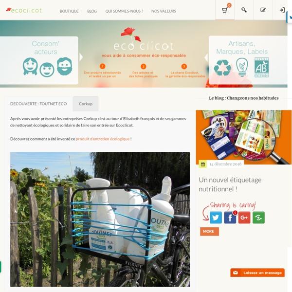 Ecoclicot: Economie d'eau, produits écologiques, Economie d'énergie