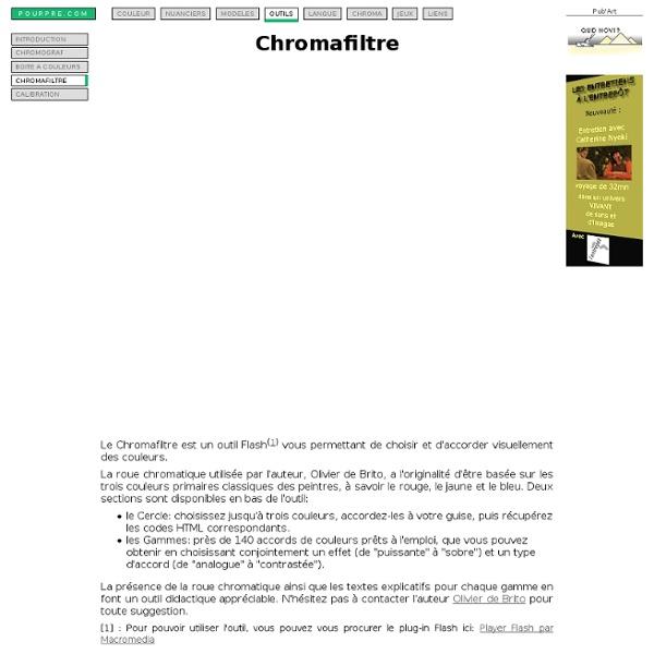 Chromafiltre