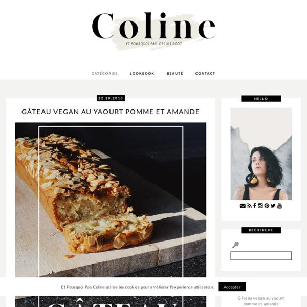 Et pourquoi pas Coline: blog mode, tendances et photos.