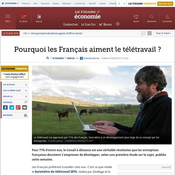 Pourquoi les Français aiment le télétravail ?