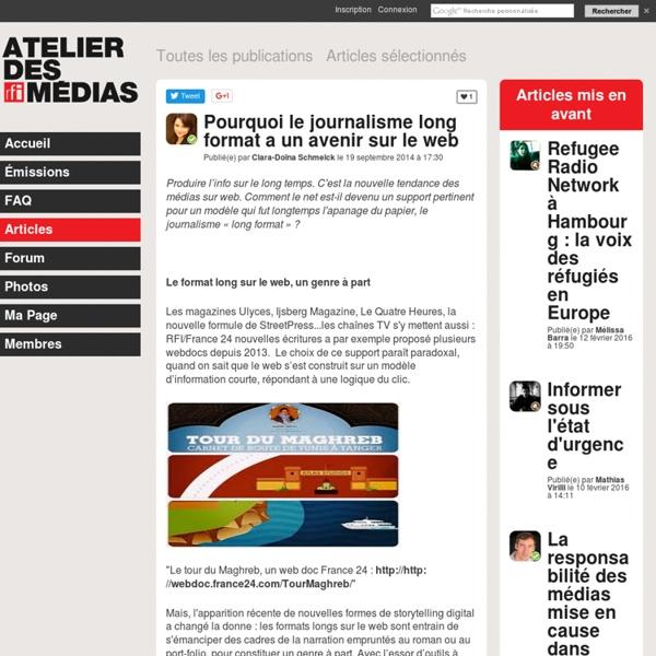 Pourquoi le journalisme long format a un avenir sur le web