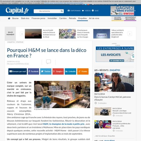 Pourquoi H&M se lance dans la déco en France