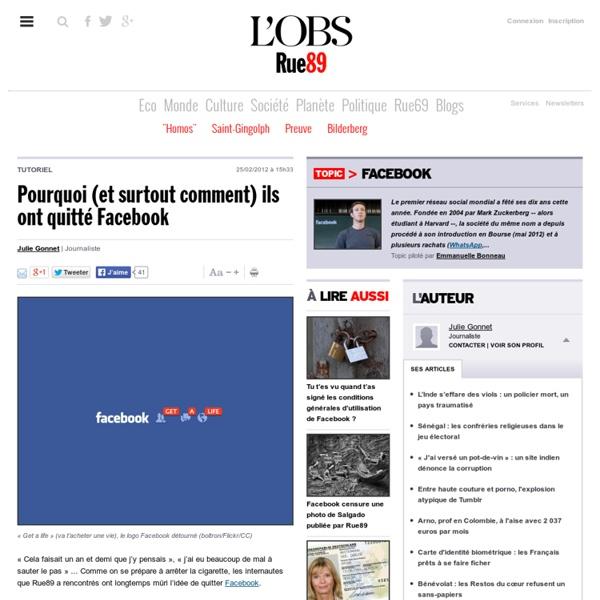 Pourquoi (et surtout comment) ils ont quitté Facebook