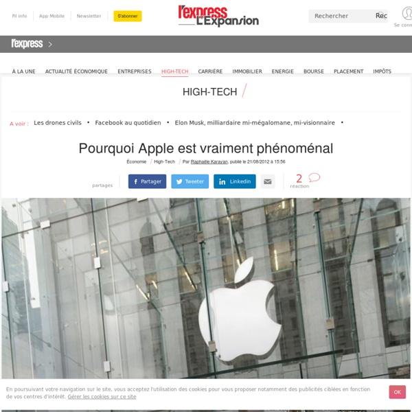 Pourquoi Apple est vraiment phénoménal