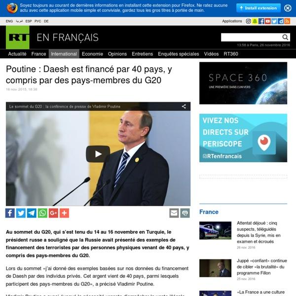 Poutine dénonce les financeurs managers
